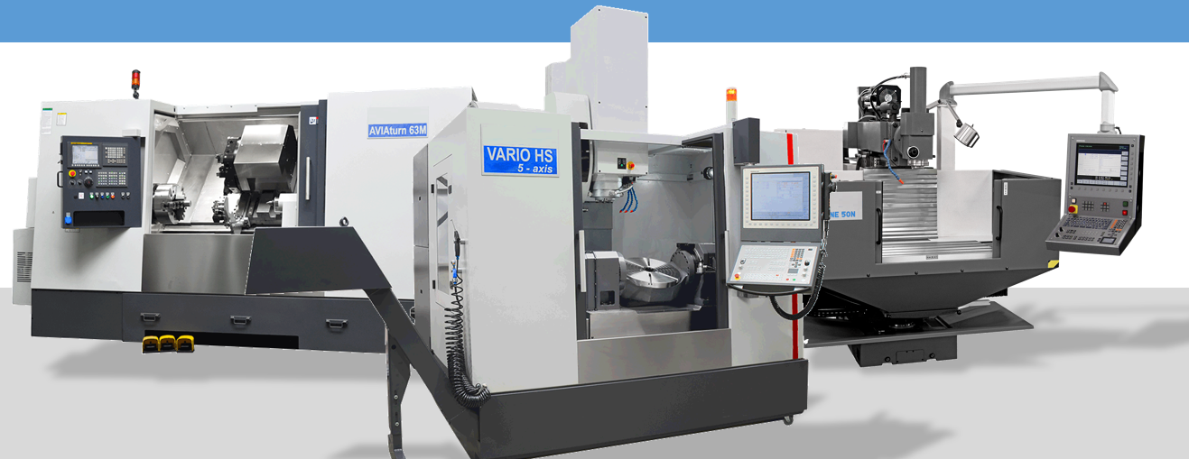 AVAILABLE MACHINE TOOLS